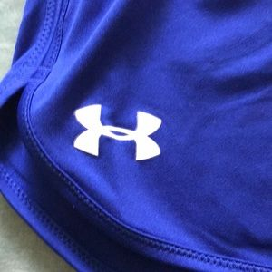 Under Armour Shorts - Blue Under Armour Shorts Med